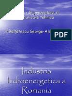 Industria Hidroenergetica a Romaniei