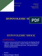 hypovolemic shock case study scribd