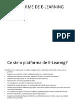 Platforme de E-learning