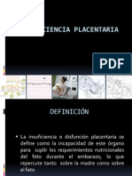 INSUFICIENCIA PLACENTARIA