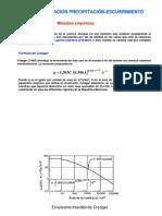 Hidrologia Presentacion Capitulo VII MODLLUVIA ESCURR