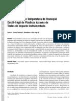 Determinação de Temperatura de Transição Dúctil-frágil de Plásticos Através de Testes de Impacto Instrumentado..pdf