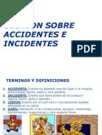 Clase 2. GESTIÓN SOBRE ACCIDENTES E INCIDENTES