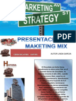Marketing Mix Chocolates Savoy Propuesta Linda