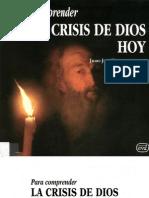 Para Comprender La Crisis de Dios Hoy Tamayo Acosta Juan Jose