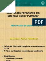Intervencao Estenose Valvar Pulmonar