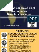 e Derechos Humanos y Derechos Laborales