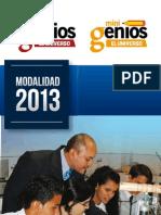 CONCURSOS ESTUDIANTILES DE DIARIO EL UNIVERSO - Modalidad 2013
