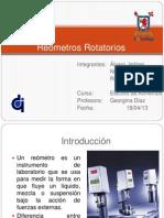 Reómetros Rotatorios