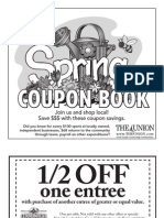 Coupon Book May 2013