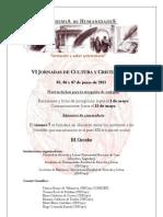 3°+Circular-Jornadas+de+Cultura+y+Cristianismo-junio+2013-Conferencistas