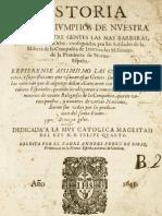 Historia de Los Triunfos de Nuestra Santa Fe