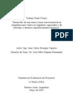 Desarrollo de una Nueva Línea Aerocomercial en Argentina