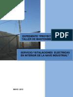 Instalación Eléctrica y Equipamientos del Proyecto Constancia