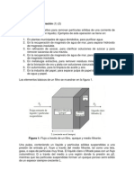 marco teórico filtración