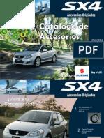 Catálogo de Accesorios SX4 Sedán