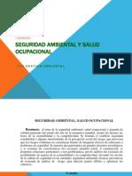 Salud Ocupacional Riesgo Ambiental