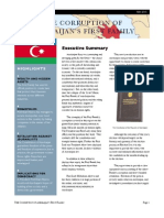 Corruption of Azerbaijans First Family