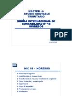Ejemplos de La Nic 18 Ingresos Por Actividades Ordinarias