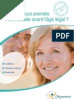 Retraite Avant 60 Ans Age Legal
