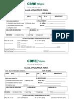 Leave form application