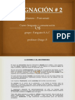 Lenguaje y comunicacion - La bomba y el matrimonio - Trabajo 2° -Post-Senati.pdf