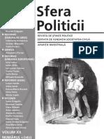 sfera politicii