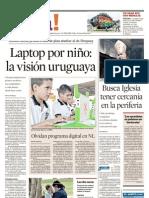 Una laptop por niño, la experiencia uruguaya.