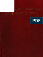 St. Ignatius of Loyola - Letters and Instructions