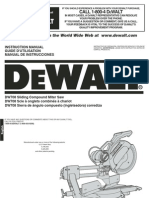 DEWALT DW708 12 Double-Bevel Sliding Compound Miter Manual[1]