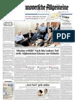 Hannoversche Allgemeine Zeitung 20110504
