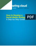 MarketingCloud -DevelopSocialMediaStrategy eBook