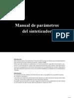 Manual de Parametros Del Sintetizador