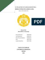 Laporan Praktikum Farmakokinetika - Praktikum 5 - IV Ganda