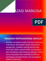 HAM dan Instrumen HAM InternationaL