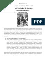 Análisis musical de Harold en Italia