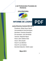 Informe de Presidencia, COLPROFORH 2011- 2012-2013H