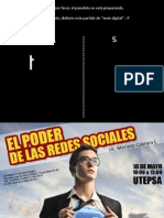 El Poder de Las Redes Sociales - Mariano Cabrera Lanfranconi