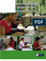 Situación laboral de las mujeres en RD