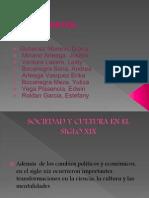 Sociedad y Cultura en El Siglo Xix