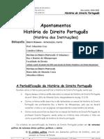 Apontamentos Historia Instituicoes (1)