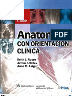 Anatomia Con Orientacion Clinica Moore