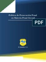 Politica Penal Juvenil Definitiva