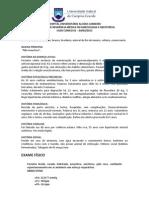 CASO CLÍNICO 01 - GINECOLOGIA