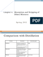 Chapter 04 Absorption and Stripping of Dilute Mixtures