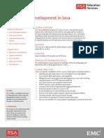 At Secure WebDevelopment Java