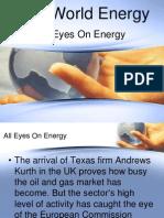All Eyes On Energy