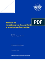 DOC 9756 Manual de Investigacion de Accidentes e Incidentes de Aviacion Parte I Es