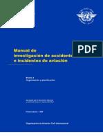 DOC 9756 Manual de Investigacion de Accidentes e Incidentes de Aviacion Parte I Es