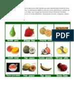 Animales y Frutas en Poqomchi